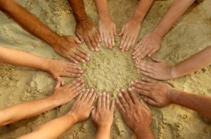 Handsina circle